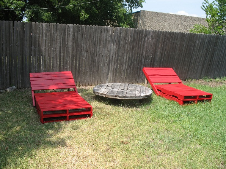 Garden Furniture from pallets22