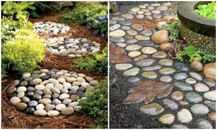 garden deco with rocks10