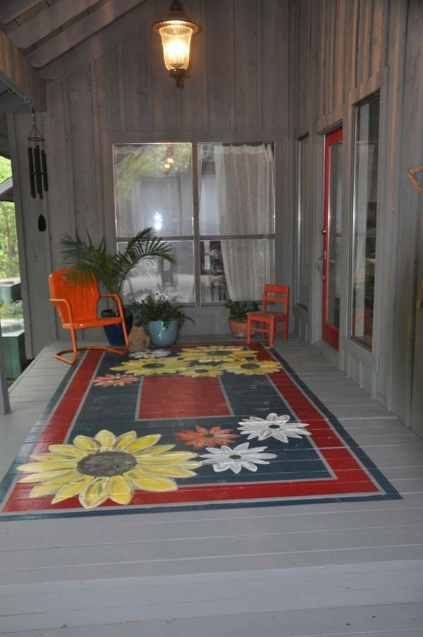 painted floor ideas9