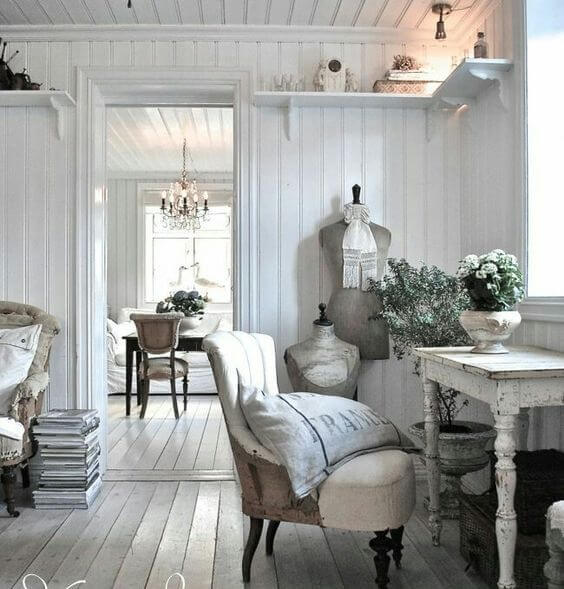 French country style country home offices (13)