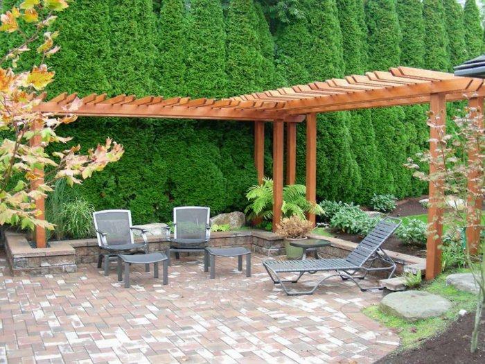 Garden with pergola22