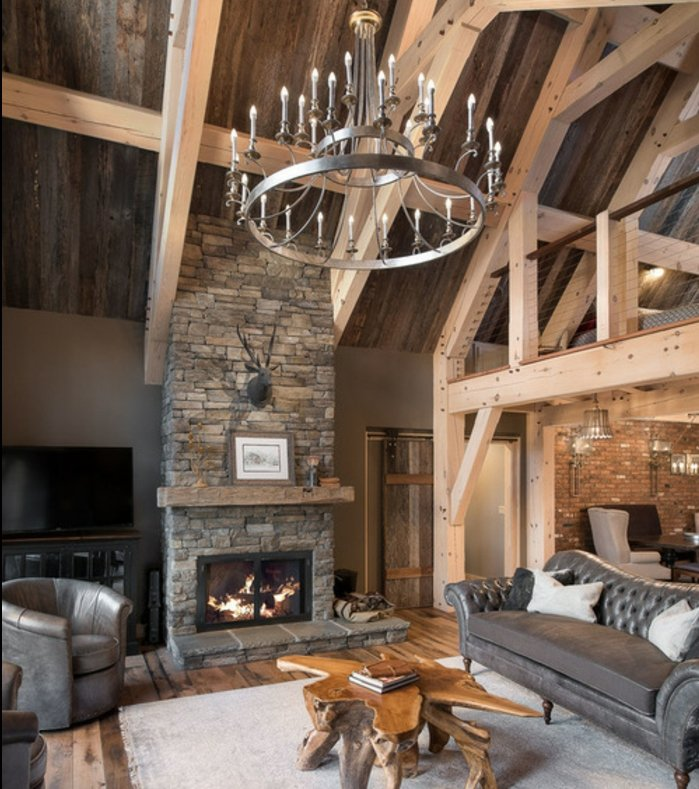 Rustic lounge ideas2