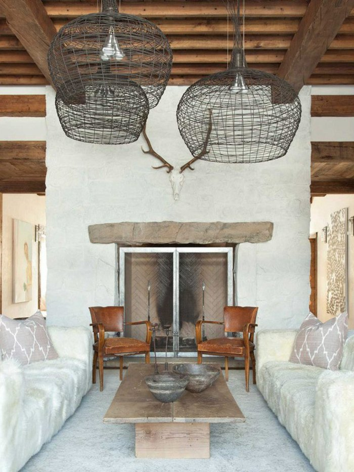 Rustic lounge ideas54
