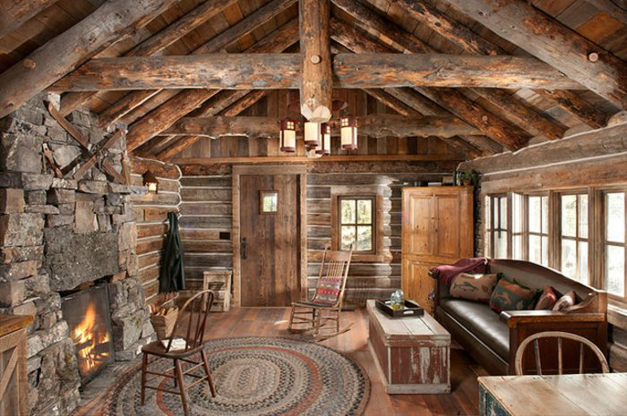 Rustic lounge ideas56