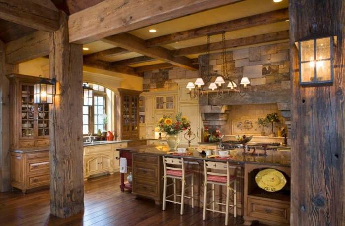 rustic kitchen ideas9