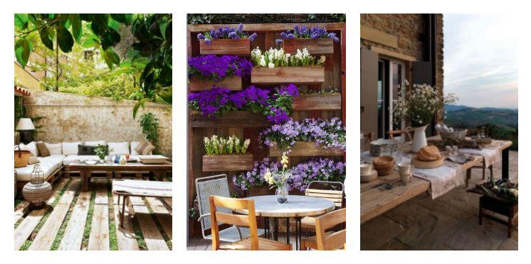 rustic terrace ideas