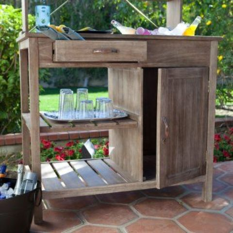 outdoor furniture ideas with storage solutions14