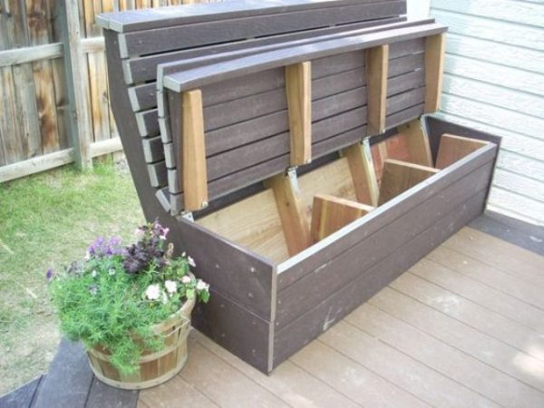 outdoor furniture ideas with storage solutions7
