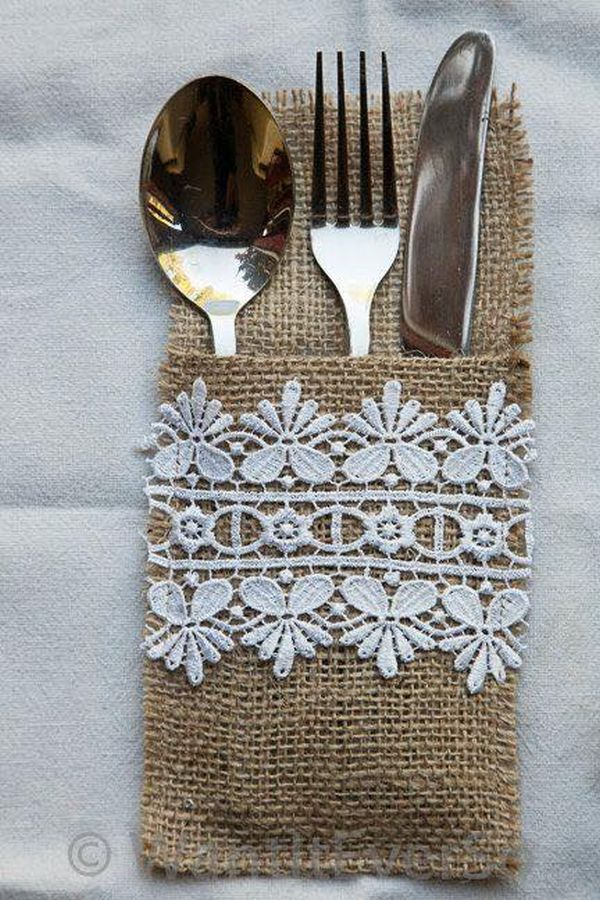 decorating ideas with burlap and lace (9)