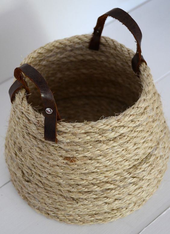 nique diy decoration ideas with rope (4)