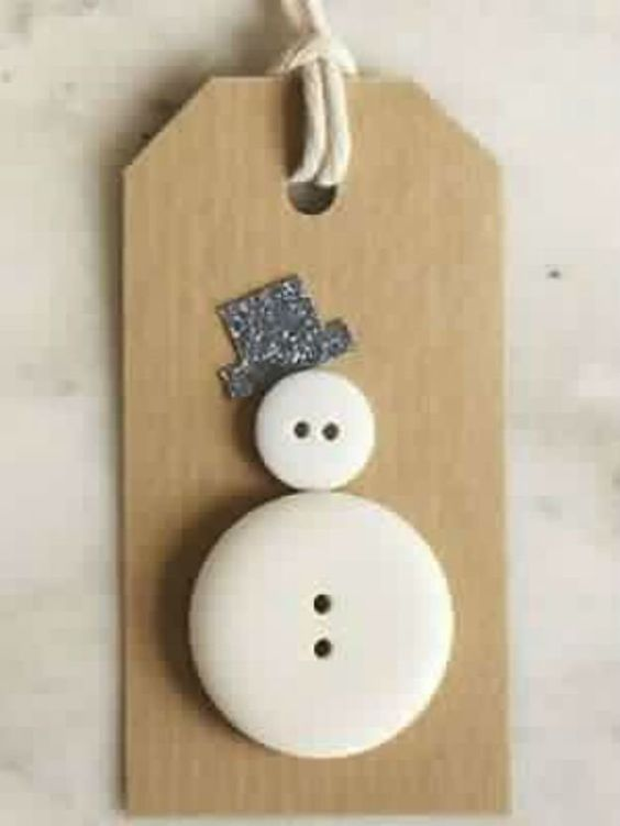Christmas DIY crafts from buttons (23)