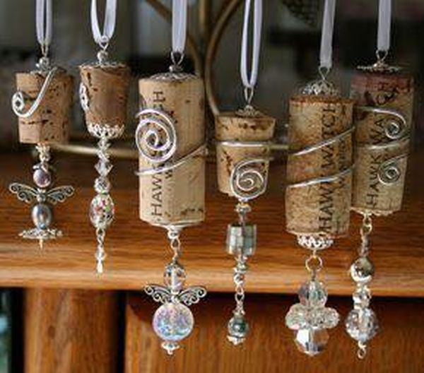 diy Christmas ornaments from corks (11)