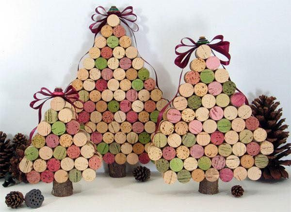 diy Christmas ornaments from corks (13)