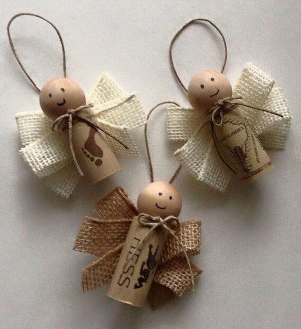 diy Christmas ornaments from corks (2)