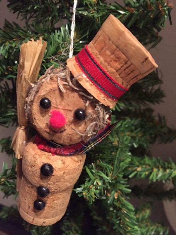 diy Christmas ornaments from corks (5)
