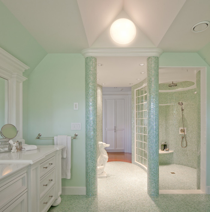 mint color decoration (24)