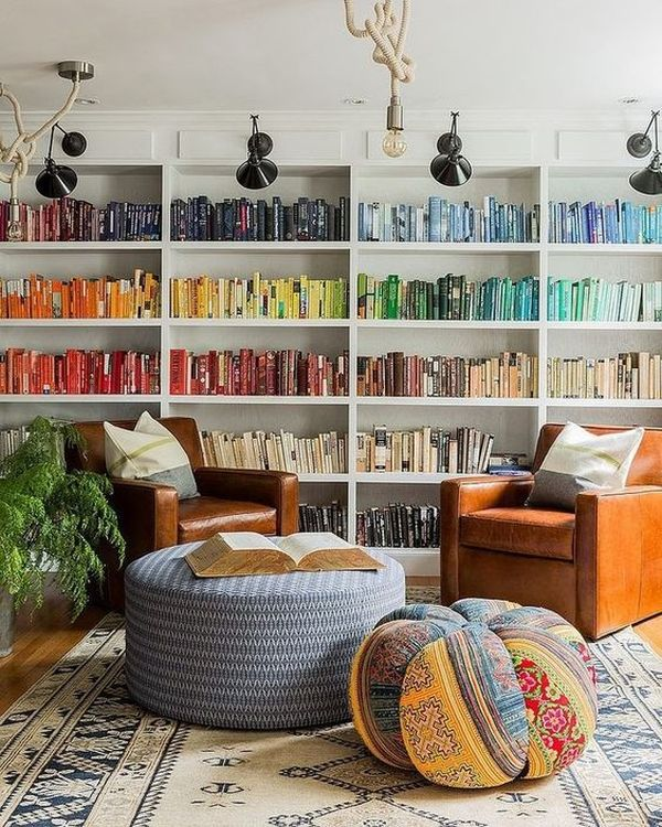 practical and unique ideas to organize books11