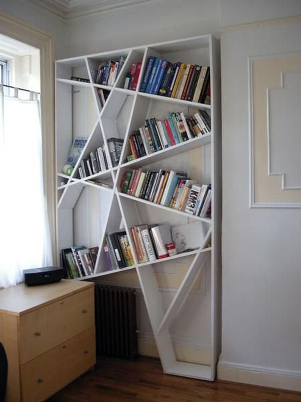 practical and unique ideas to organize books7
