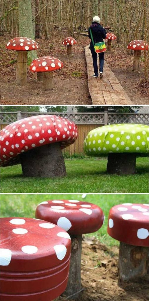 DIY projects for the garden made of wood (6)