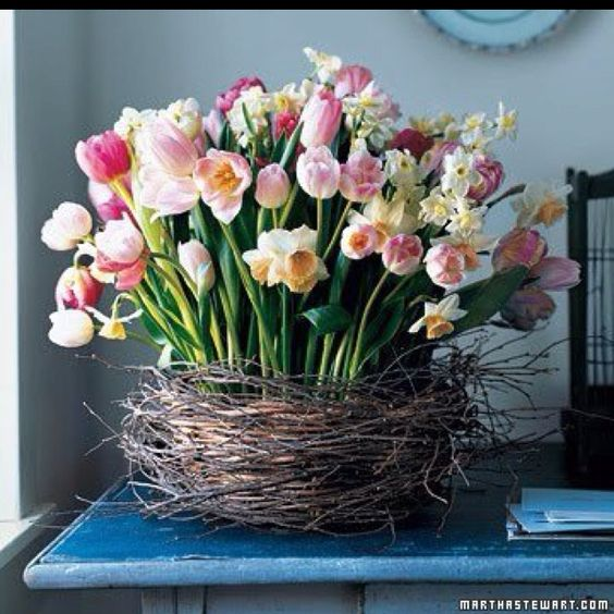 ideas to decorate with flowers14