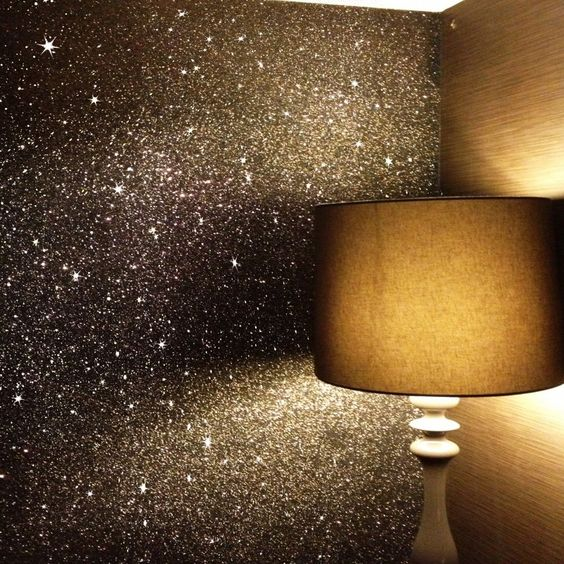 make a gold dust wall4