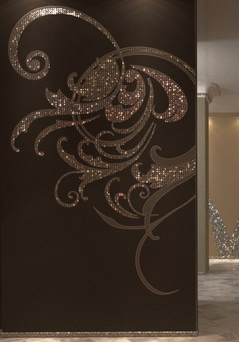 make a gold dust wall7