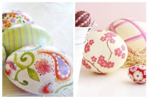 Decoupage in Easter eggs3