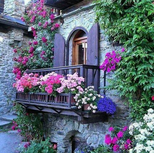 mydesiredhome - blooming balconies ideas26