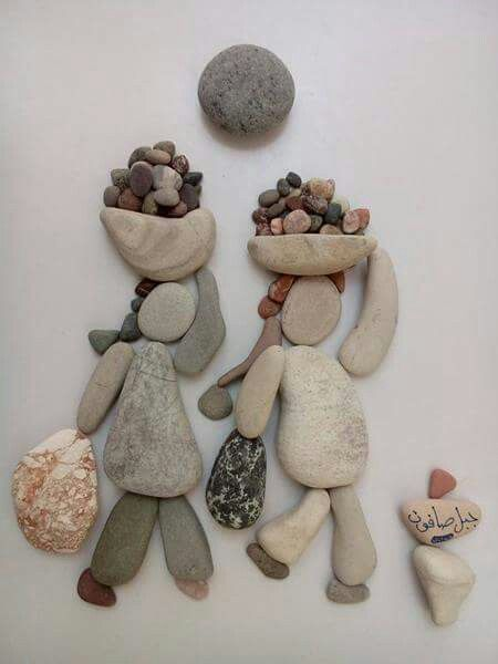 Pebble art ideas10