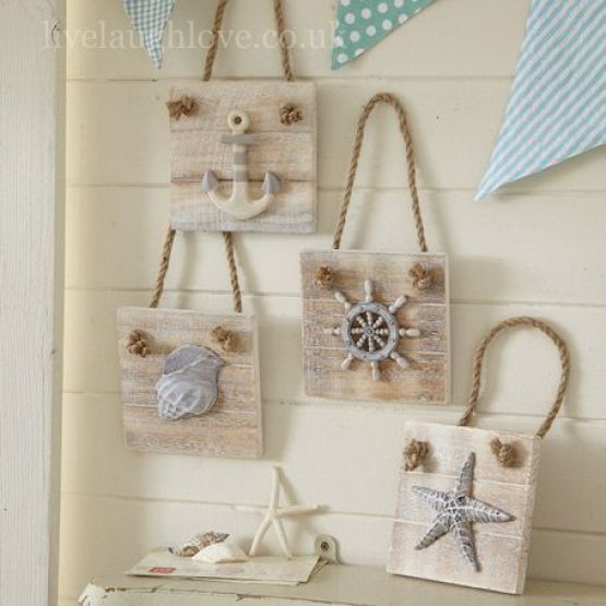 Summer Ideas - crafts for the walls9