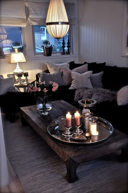 living room table decoration ideas16