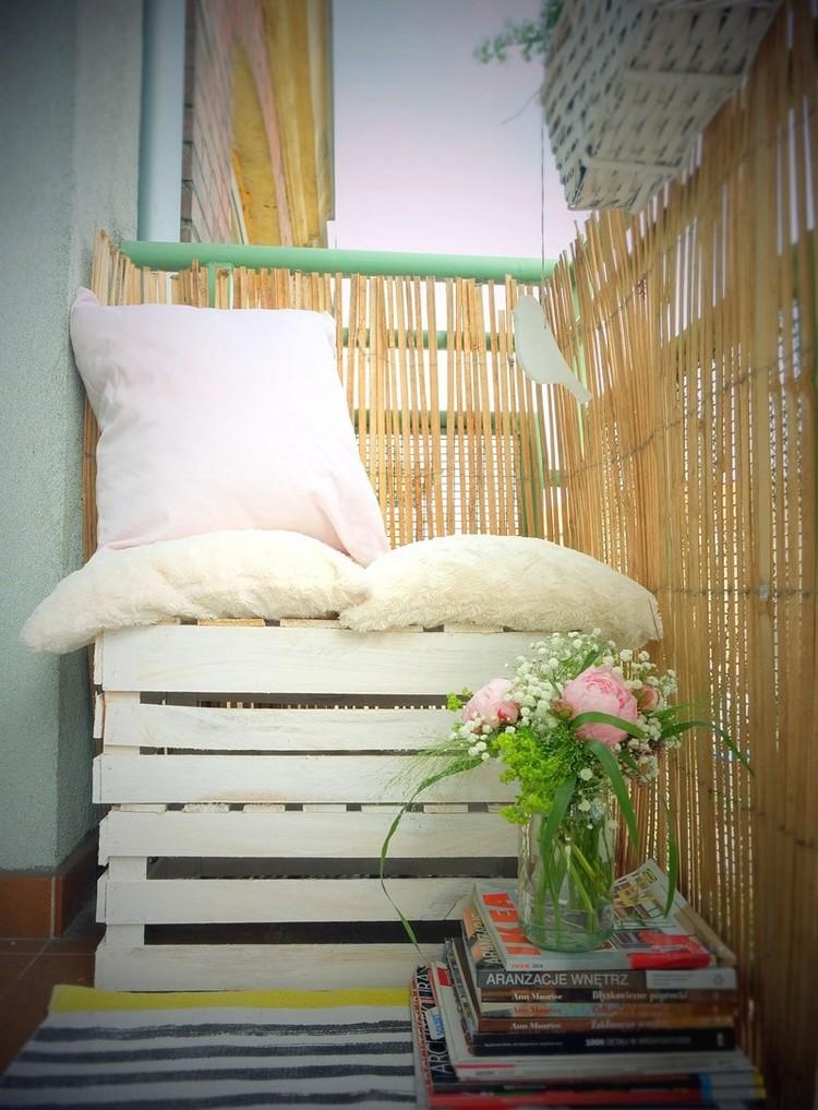 Balcony pallet Sofa ideas19