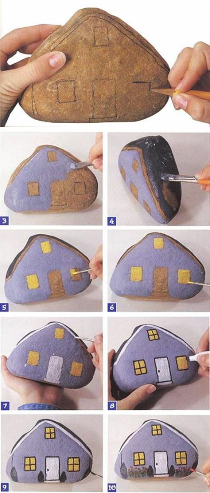DIY rock painting5