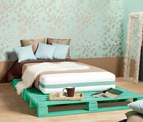 Pallets Bed Ideas15