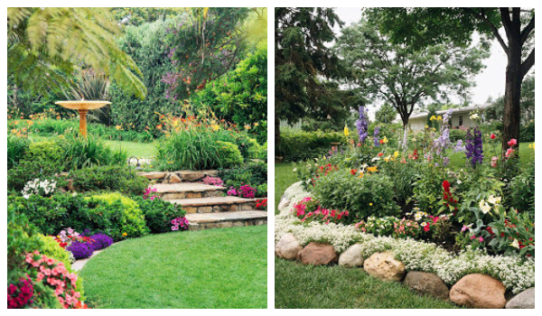 flowerbed ideas for your garden14