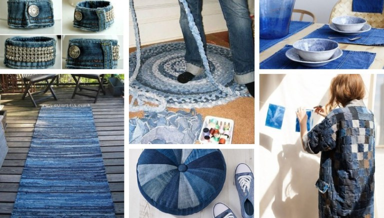 74 Awesome Ideas To Recycle Jeans My Desired Home