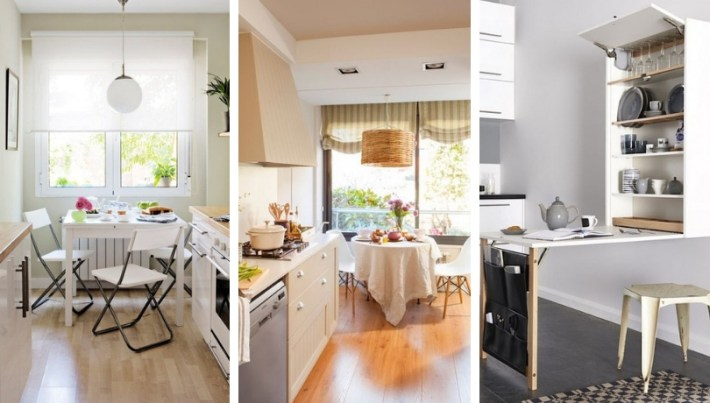 Perfect ideas to get a stylish dining kitchen