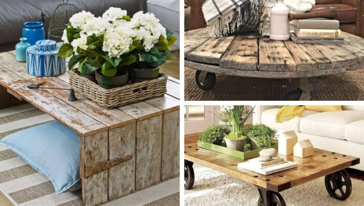 28 Amazing Ideas For Diy Ecological Coffee Tables My