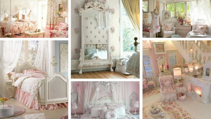 Shabby chic bedroom decor ideas – create your own personal romantic oasis