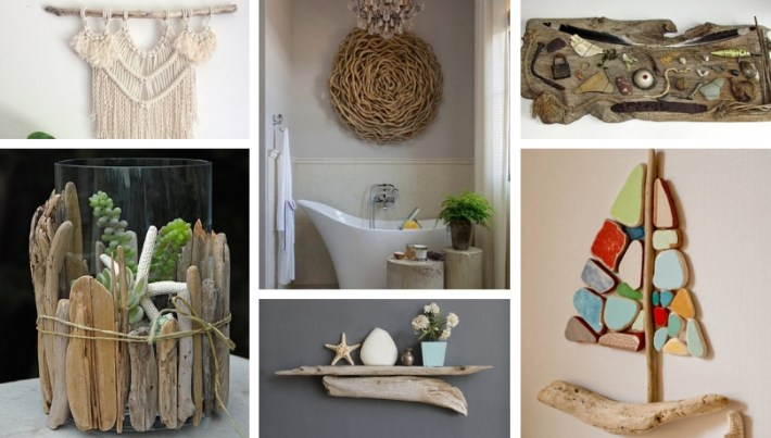 Tinkering With Natural Materials 30 Diy Ideas For Decorating With Driftwood My Desired Home