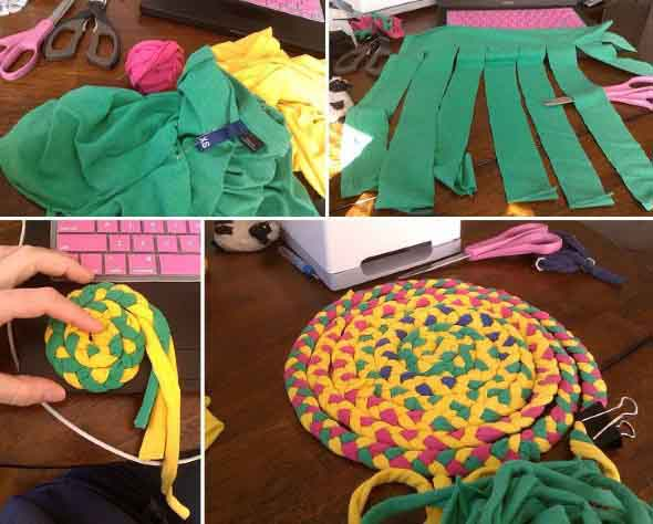 Diy Ideas For Crafts And Decorations From Old Clothes My Desired Home