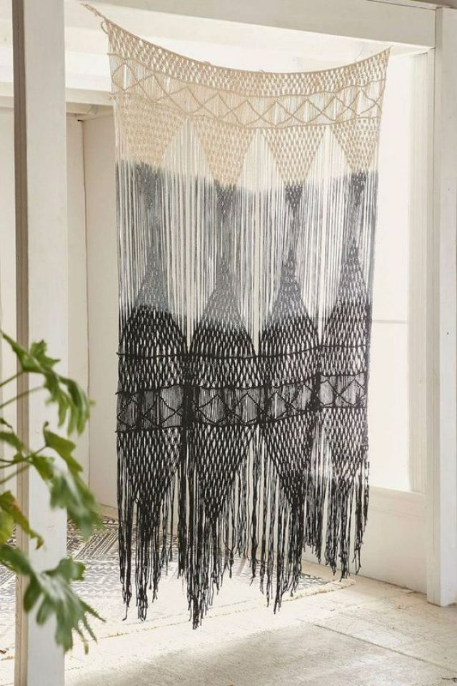Macrame Curtains An Old Trend Returned To Homes