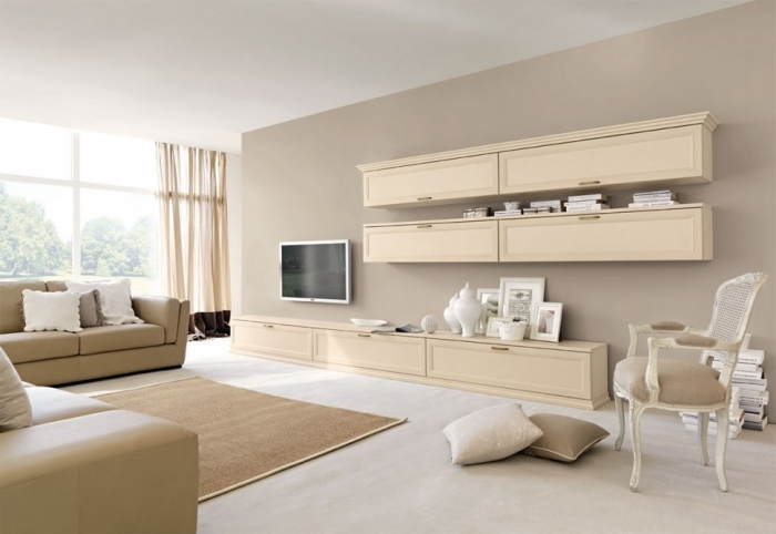 Give a relaxed aura to your home decor with the sand color | My desired home