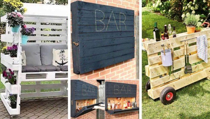Original Diy Pallet Ideas For Your Outdoors My Desired Home