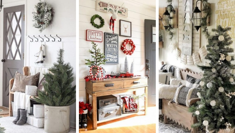 The Most Beautiful Christmas Ideas For A Welcoming Home Entrance My Desired Home