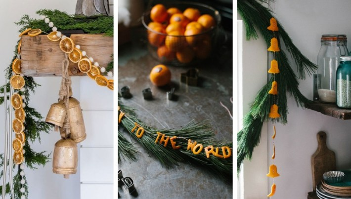 Cool Diy Christmas Decoration Ideas With Orange Peels And A