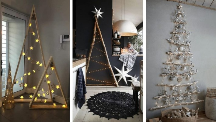 Cool Handmade Space Saving Christmas Trees 35 Suggestions My Desired Home