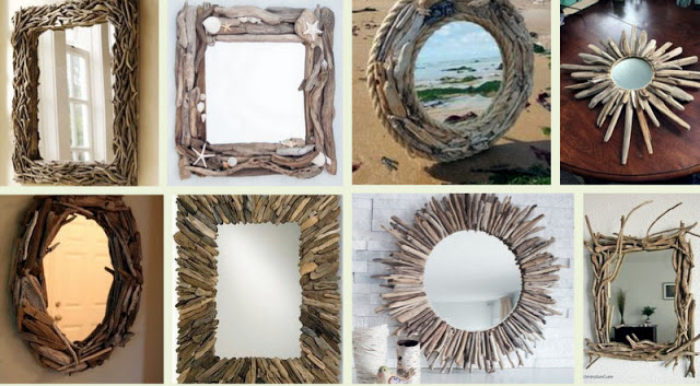 How to make amazing DIY Mirrors with driftwood