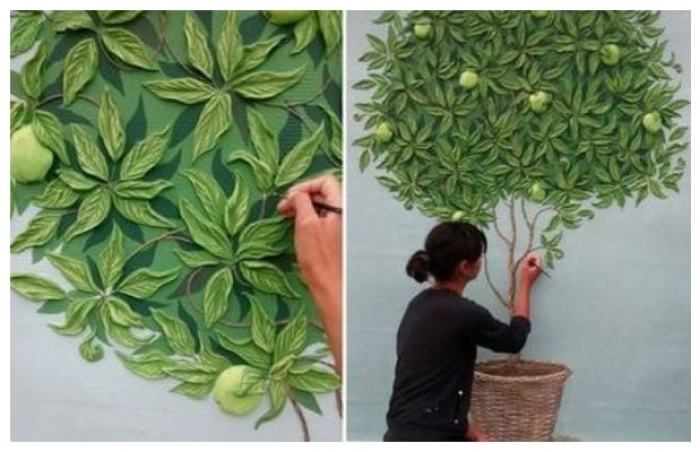 Amazing DIY ideas for plaster wall decorations