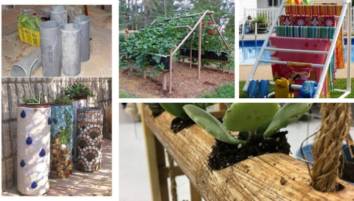 Best DIY ideas for using PVC pipes on your garden